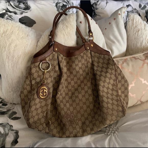 e3e99a863 Gucci Bags | Authentic Large Sukey Tote Preloved | Poshmark